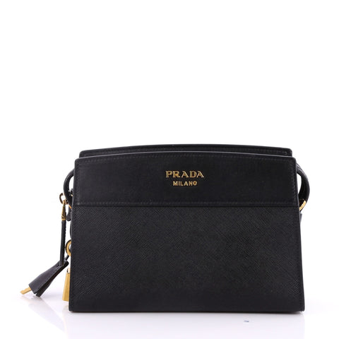 91906fb43 Buy Prada Esplanade Crossbody Bag Saffiano Leather Small 2859301 – Rebag