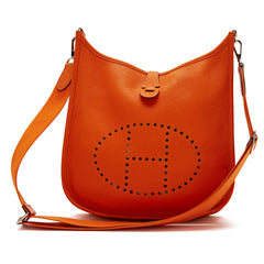Hermes Evelyne Crossbody Leather PM