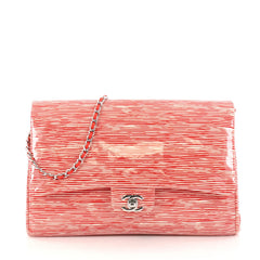 Chanel Clutch with Chain Printed Patent Red 2865103