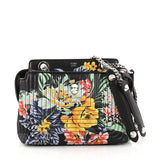 Fendi DotCom Click Shoulder Bag Quilted Printed Leather 2872502