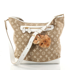 Louis Vuitton Besace Handbag Monogram Sabbia Brown 2872804