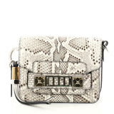 Proenza Schouler PS11 Crossbody Bag Python Tiny White 2875301