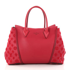 Louis Vuitton W Tote Veau Cachemire Calfskin PM Red 2890302