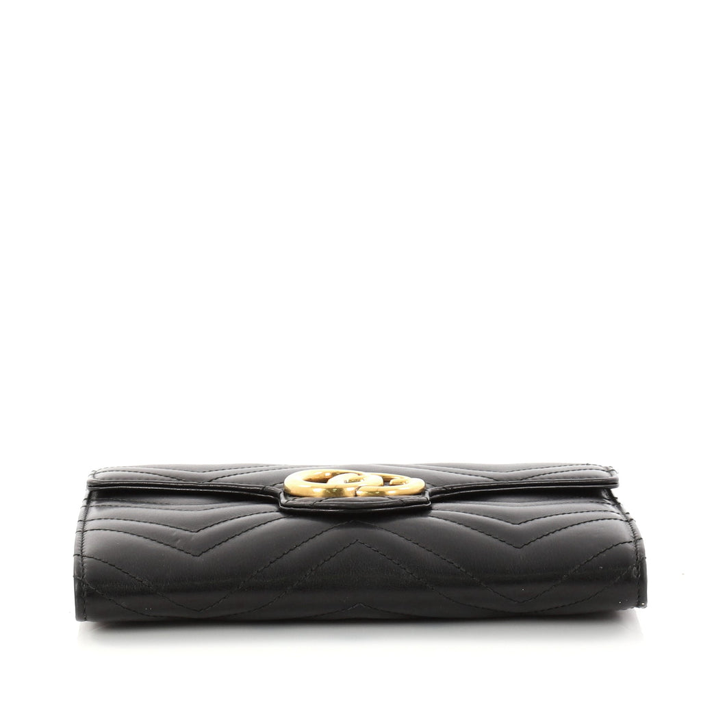 dfdc8df4936 Buy Gucci GG Marmont Chain Wallet Matelasse Leather Mini 2901501 – Rebag