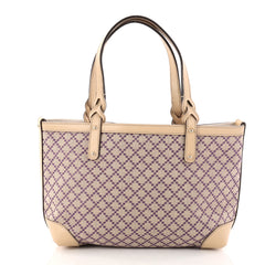 Gucci Craft Tote Diamante Canvas Small Neutral 2908103