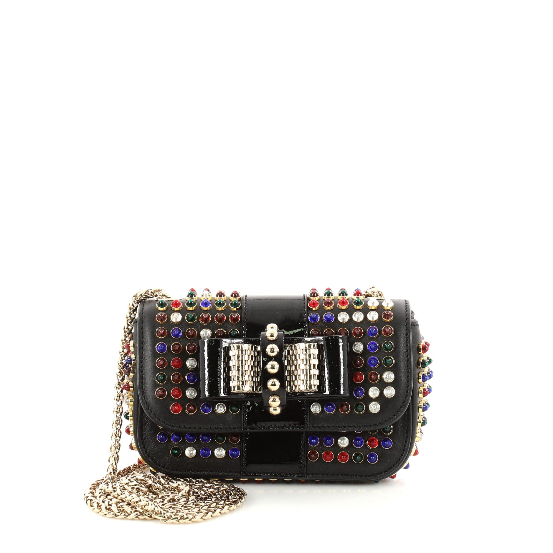 Sweet Charity Crossbody Bag Studded Leather Mini