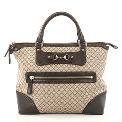 Gucci Catherine Tote Diamante Canvas with Leather Large Brown 2919704