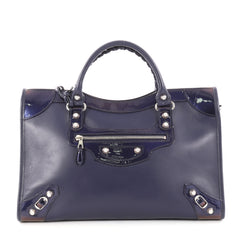 Balenciaga Holiday City Giant Studs Handbag Matte 2924501