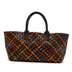 Bottega Veneta Cabat Tote Woven Leather Large