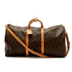 Louis Vuitton Keepall Monogram Canvas Bandouliere 60