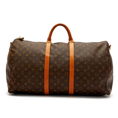 Louis Vuitton Keepall Monogram Canvas Bandouliere 55
