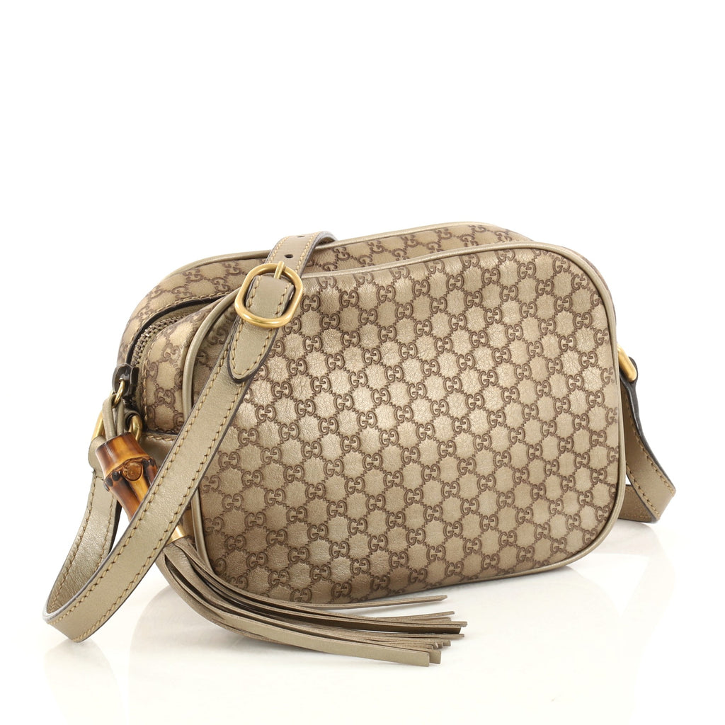 321b7ee0f Buy Gucci Sunshine Disco Handbag Microguccissima Leather 2951202 – Rebag