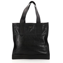 Balenciaga Carry Shopper Handbag Leather Medium Black 2951406