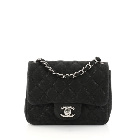2757331885f7 Buy Chanel Square Classic Single Flap Bag Quilted Matte 2971802 – Rebag