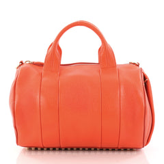 Alexander Wang Rocco Satchel Leather Orange 2986101
