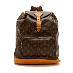 Louis Vuitton Montsouris Monogram Canvas Backpack MM