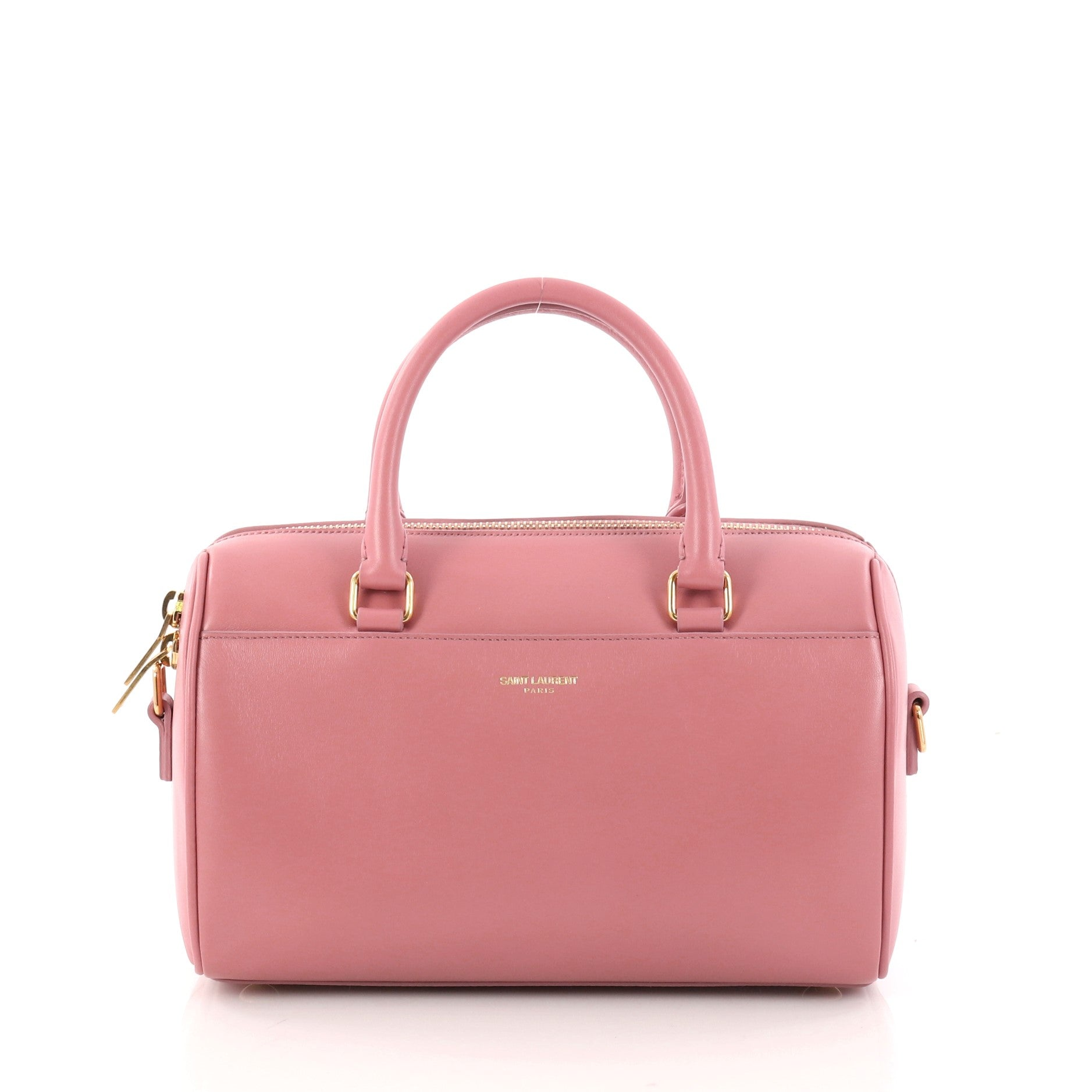 Classic Baby Duffle Bag Leather