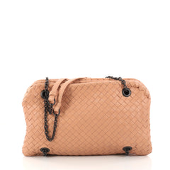 Bottega Veneta Duo bag Intrecciato Nappa Neutral 3010304