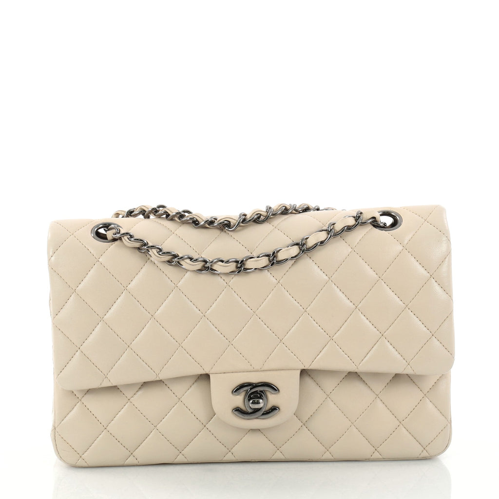 6202d5e07e3add Buy Chanel Classic Double Flap Bag Quilted Lambskin Medium 3010801 ...