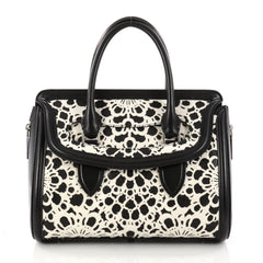 Alexander McQueen Heroine Tote Laser Cut Calf Hair and 3012401