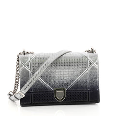 Christian Dior Diorama Flap Bag Ombre Cannage Embossed 3015901