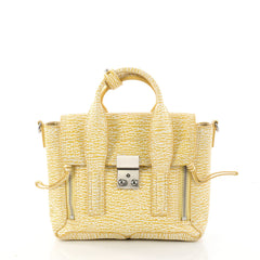 3.1 Phillip Lim Pashli Satchel Leather Mini Yellow 3016101