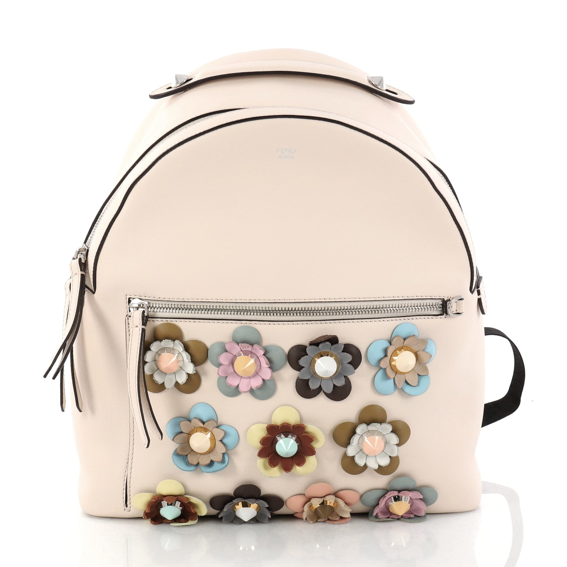 By The Way Flowerland Backpack Embellished Leather Medium