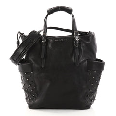 Jimmy Choo Blare Convertible Tote Studded Leather
