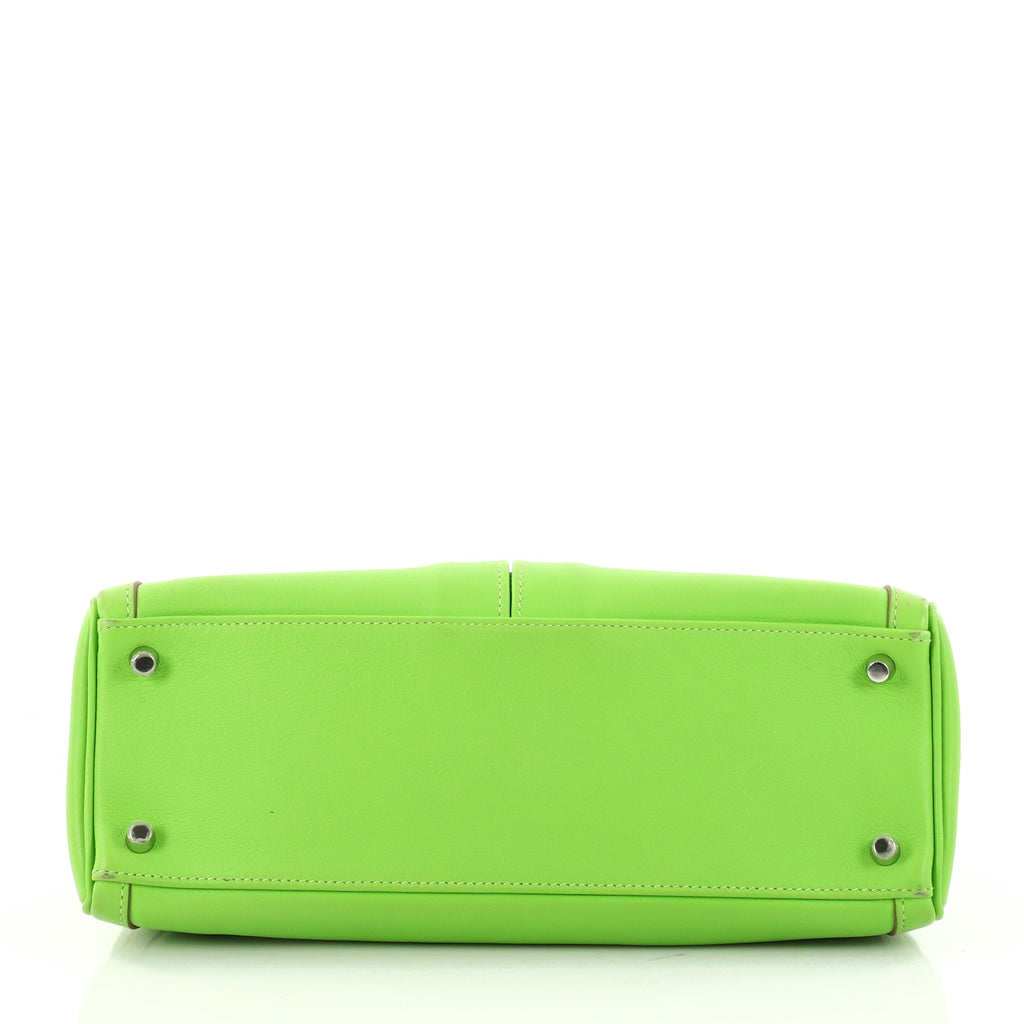 326476c2877e Buy Hermes Kelly Lakis Handbag Green Swift with Palladium 3023802 ...