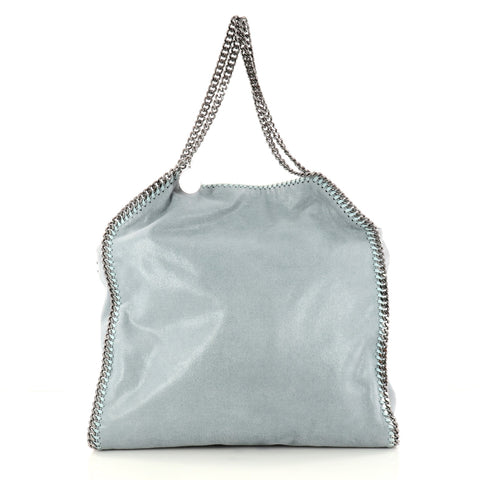 Buy Stella McCartney Falabella Tote Shaggy Deer Large Blue 3038101 – Rebag 5b149b4ace9ac
