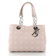 Christian Dior Soft Shopping Tote Cannage Quilt Lambskin 3042603