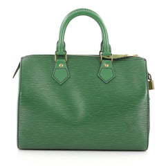 Louis Vuitton Speedy Handbag Epi Leather 25 Green 3047201