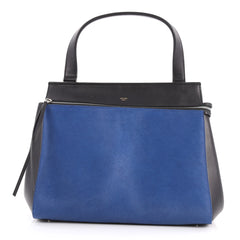 Celine Edge Bag Pony Hair Medium Blue 3052301