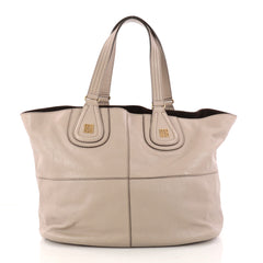 Givenchy Nightingale Cabas Tote Leather Large Gray 3055603 4b893c34241b9