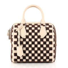 Louis Vuitton Speedy Cube Bag Damier Cubic Leather and 3058102