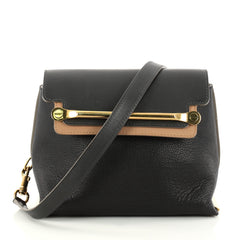 Bicolor Clare Handbag Leather Small