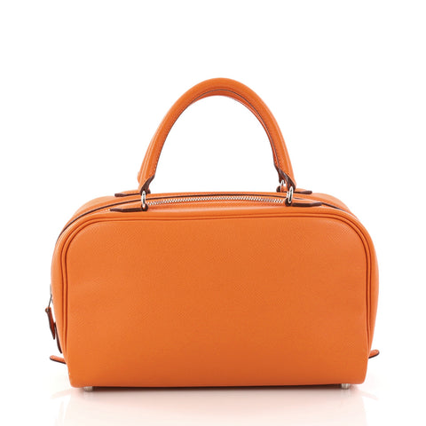 181bd595a5 Buy Hermes Sac Envi Handbag Epsom 26 Orange 3071301 – Rebag