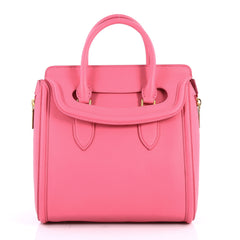 Alexander McQueen Heroine Tote Leather Large Pink 3073901