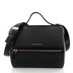 Givenchy Pandora Box Handbag Leather Medium Black 3075201