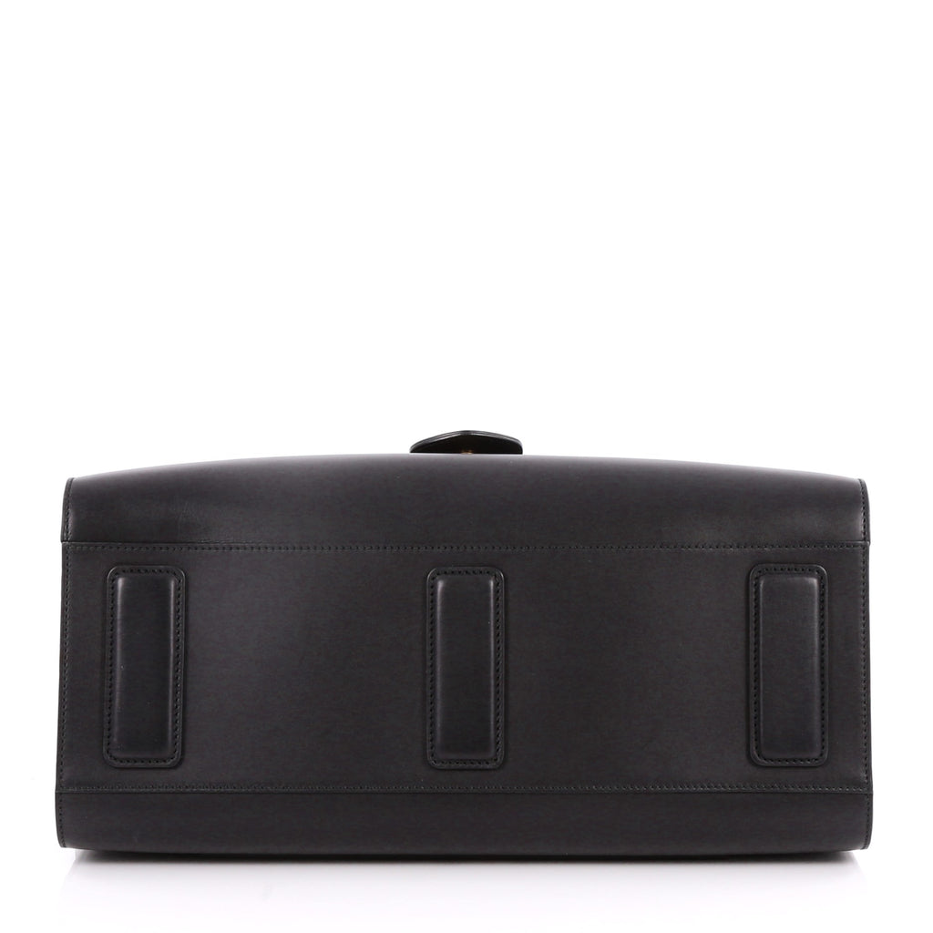 b8c735bf96ff Buy Gucci GG Marmont Briefcase Leather Large Black 3080602 – Rebag