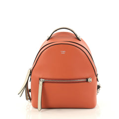 Fendi By The Way Backpack Leather Mini Orange 3084104