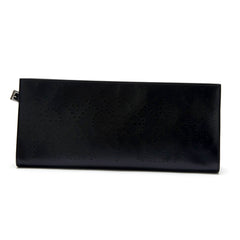 Alaia Laser-Cut Clutch Leather