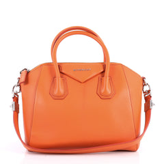 Givenchy Antigona Bag Leather Small Orange 3095302
