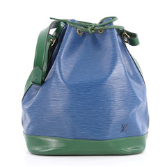 Louis Vuitton Noe Handbag Epi Leather Large Blue 3095604