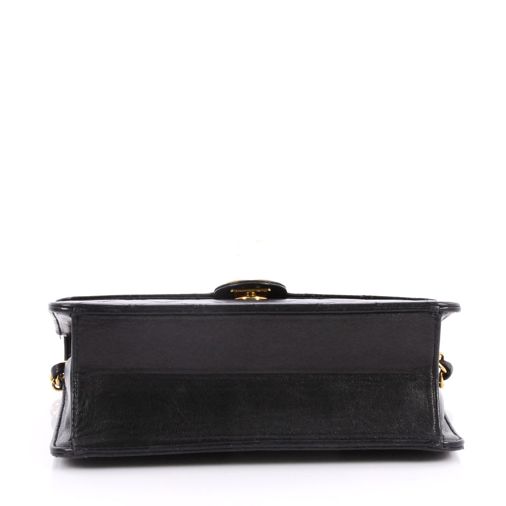 7201084a8f54 Buy Chanel Vintage Clutch with Chain Quilted Leather Small 3098202 ...