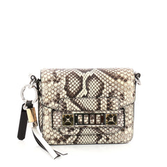 Proenza Schouler PS11 Crossbody Bag Python Tiny Neutral 3099701