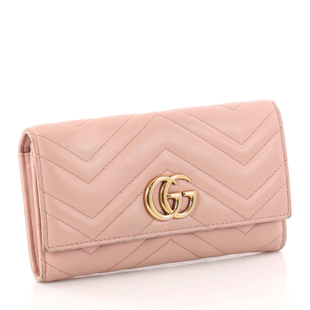 4ace9dc7ece Buy Gucci GG Marmont Continental Wallet Matelasse Leather 3109907 ...