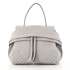 Tod's Convertible Wave Bag Leather Mini 3112601