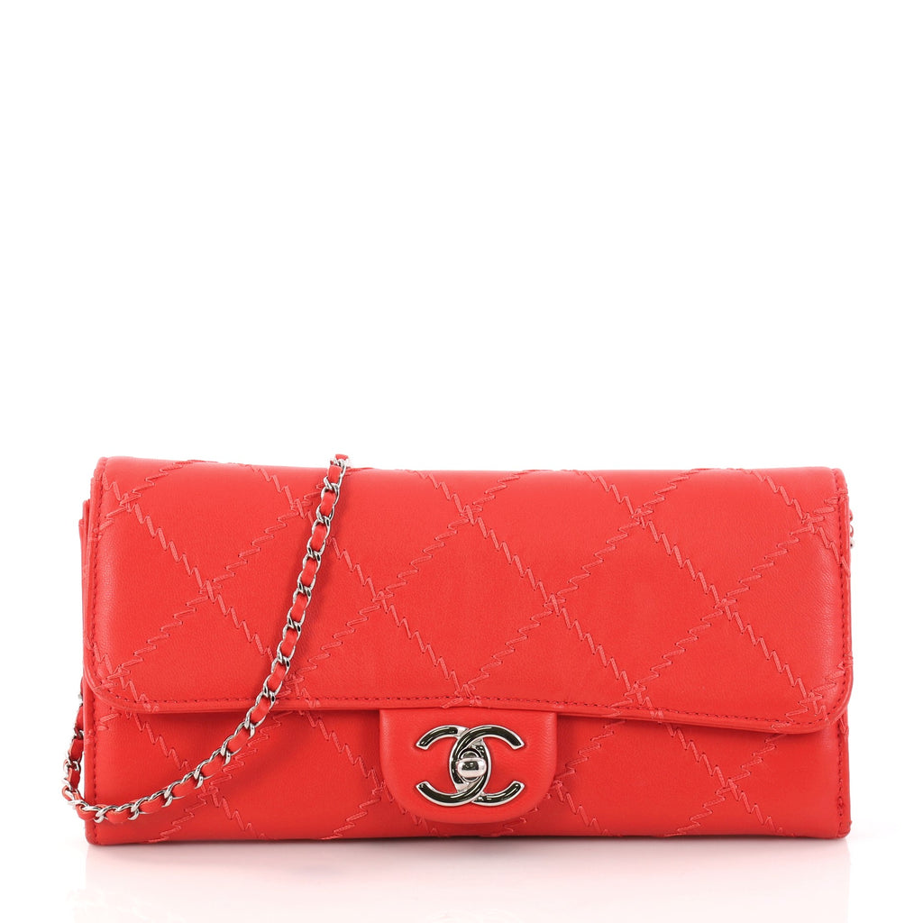 3add058f46eb Buy Chanel Ultimate Stitch Wallet on Chain Quilted Lambskin 3113603 ...