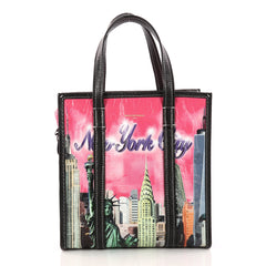 Balenciaga Bazar Convertible AJ Tote Printed Leather 3117101